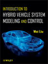 Introduction to Hybrid Vehicle System Modeling and Control (eBook)
